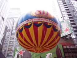 Macy''s Thanksgiving Day parade - close-up balloon